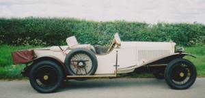 1924 Panhard Levassor 6.3 litres Straight 8.
