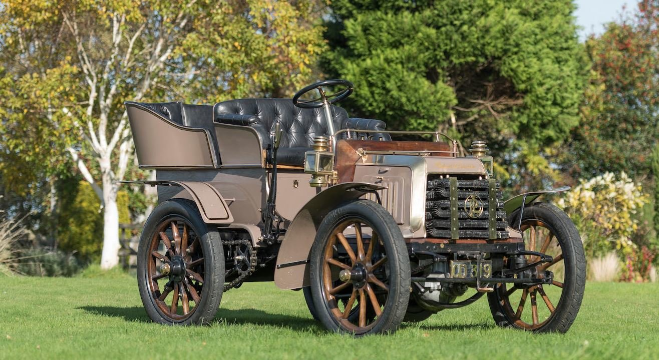c.1902 Panhard & Levassor 7hp Rear Entrance Tonneau For Sale (picture 1 of 10)