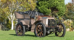 1902 c. Panhard & Levassor 7hp Rear Entrance Tonneau