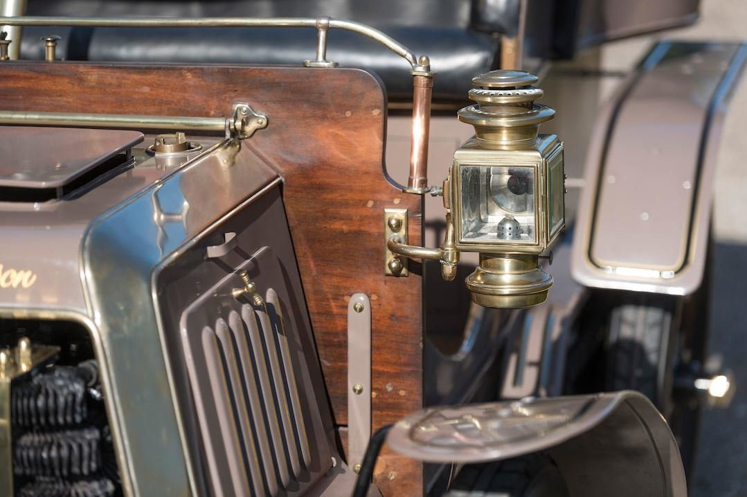 c.1902 Panhard & Levassor 7hp Rear Entrance Tonneau For Sale (picture 7 of 10)