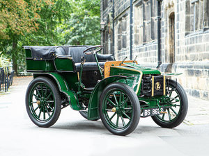 Picture of 1901 PANHARD ET LEVASSOR TYPE A2 7HP TWIN-CYLINDER