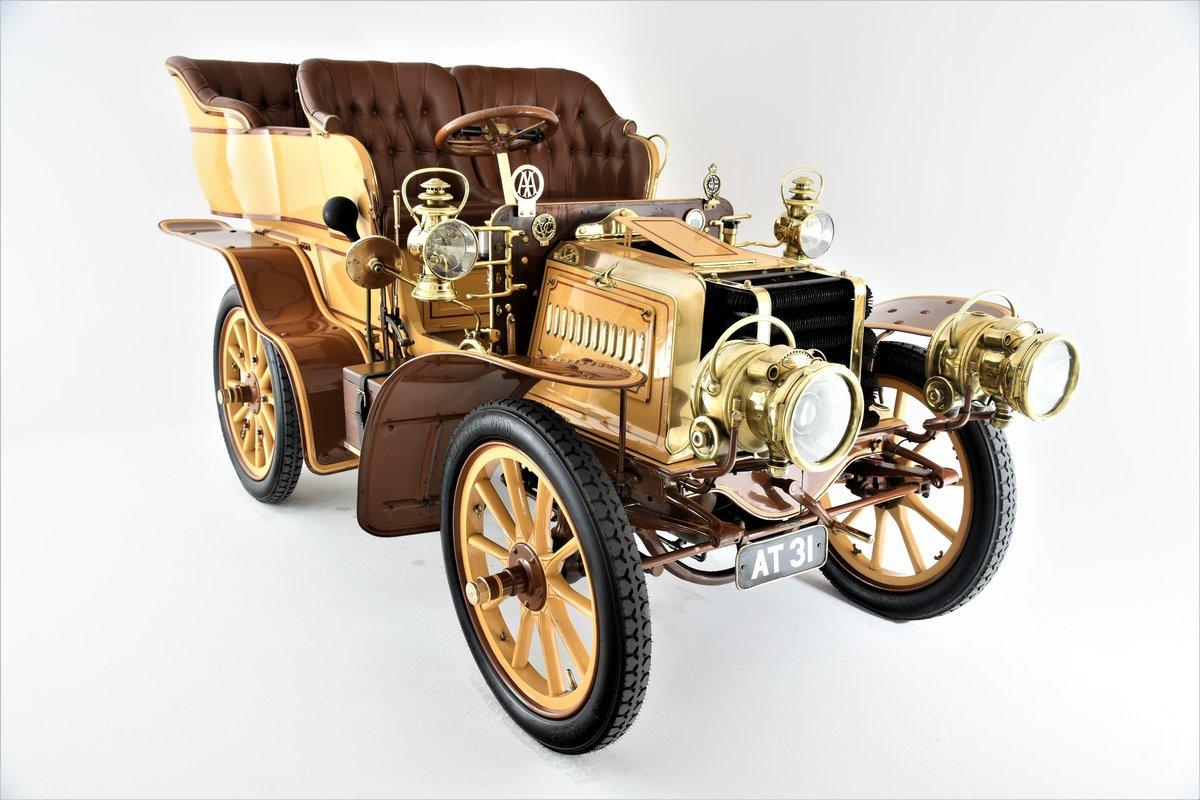 c.1902 Panhard & Levassor 16/20hp Rear Entrance Tonneau For Sale (picture 1 of 20)