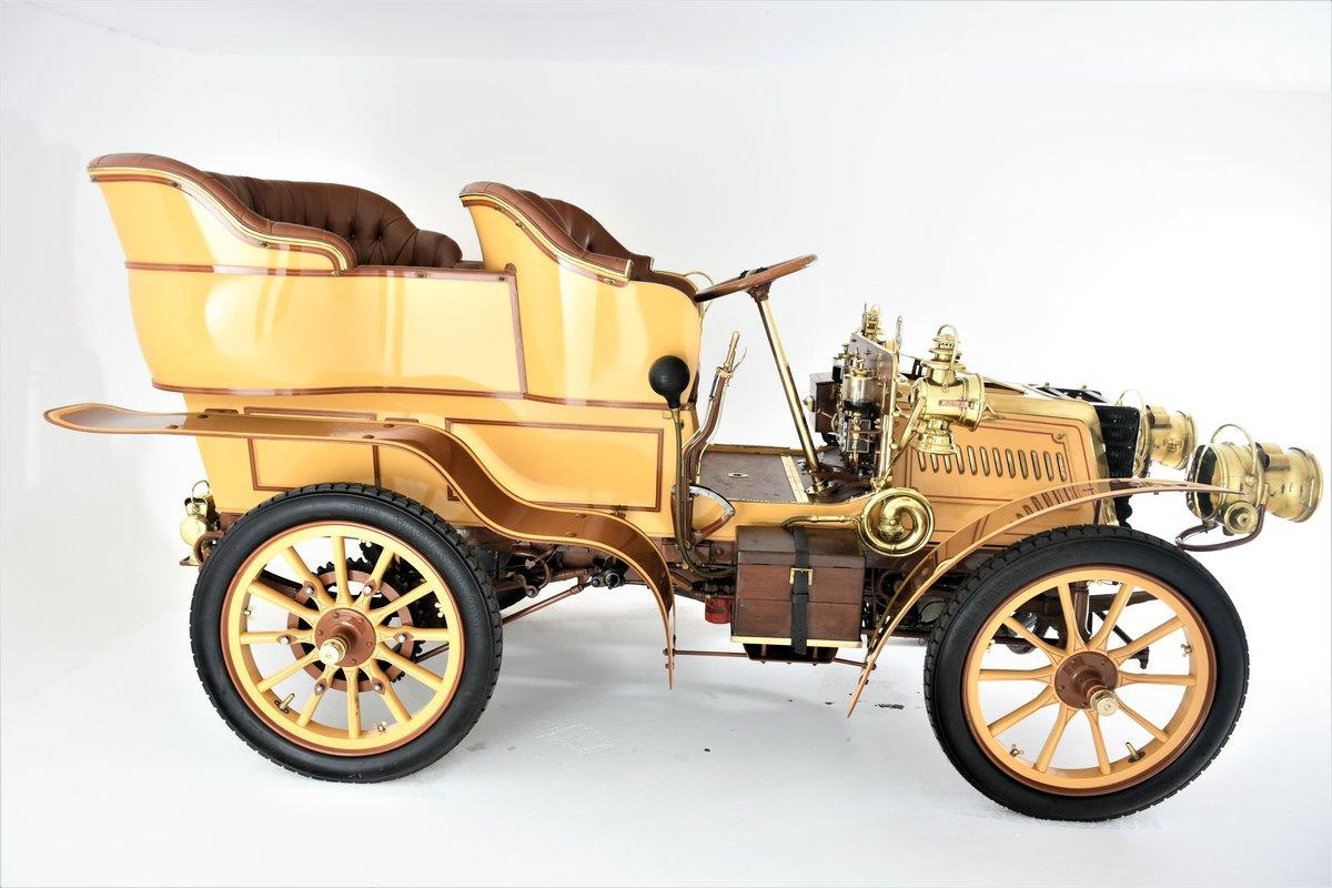 c.1902 Panhard & Levassor 16/20hp Rear Entrance Tonneau For Sale (picture 2 of 20)