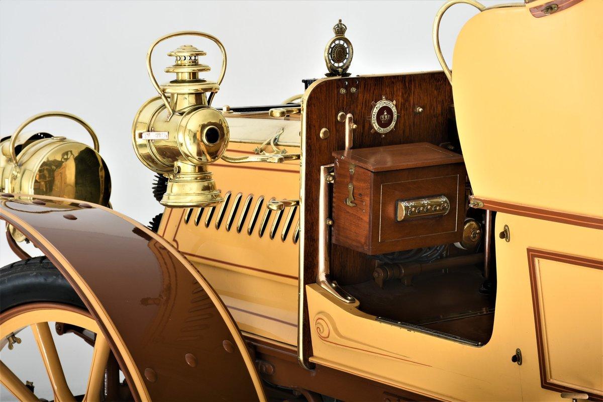 c.1902 Panhard & Levassor 16/20hp Rear Entrance Tonneau For Sale (picture 9 of 20)