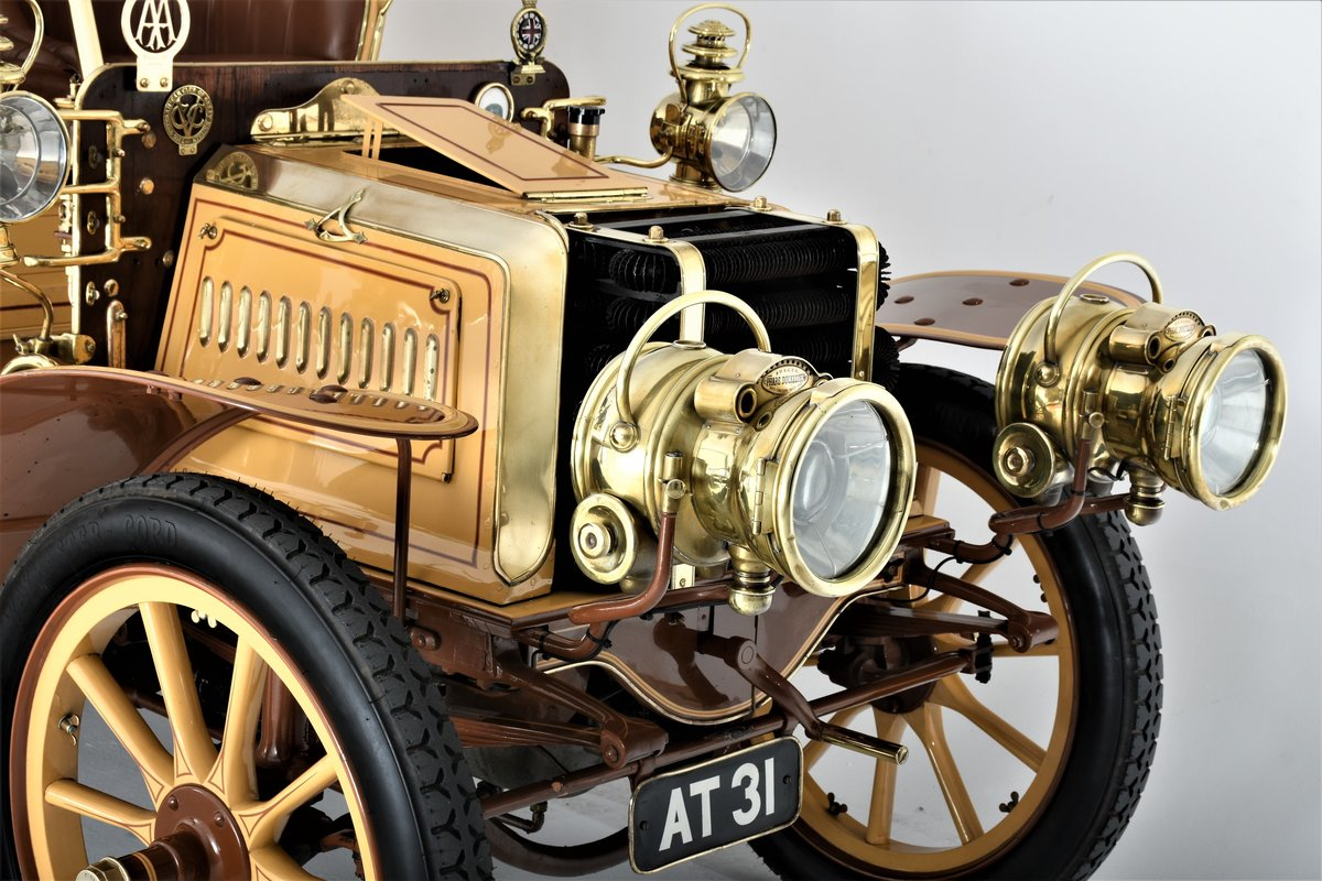 c.1902 Panhard & Levassor 16/20hp Rear Entrance Tonneau For Sale (picture 13 of 20)