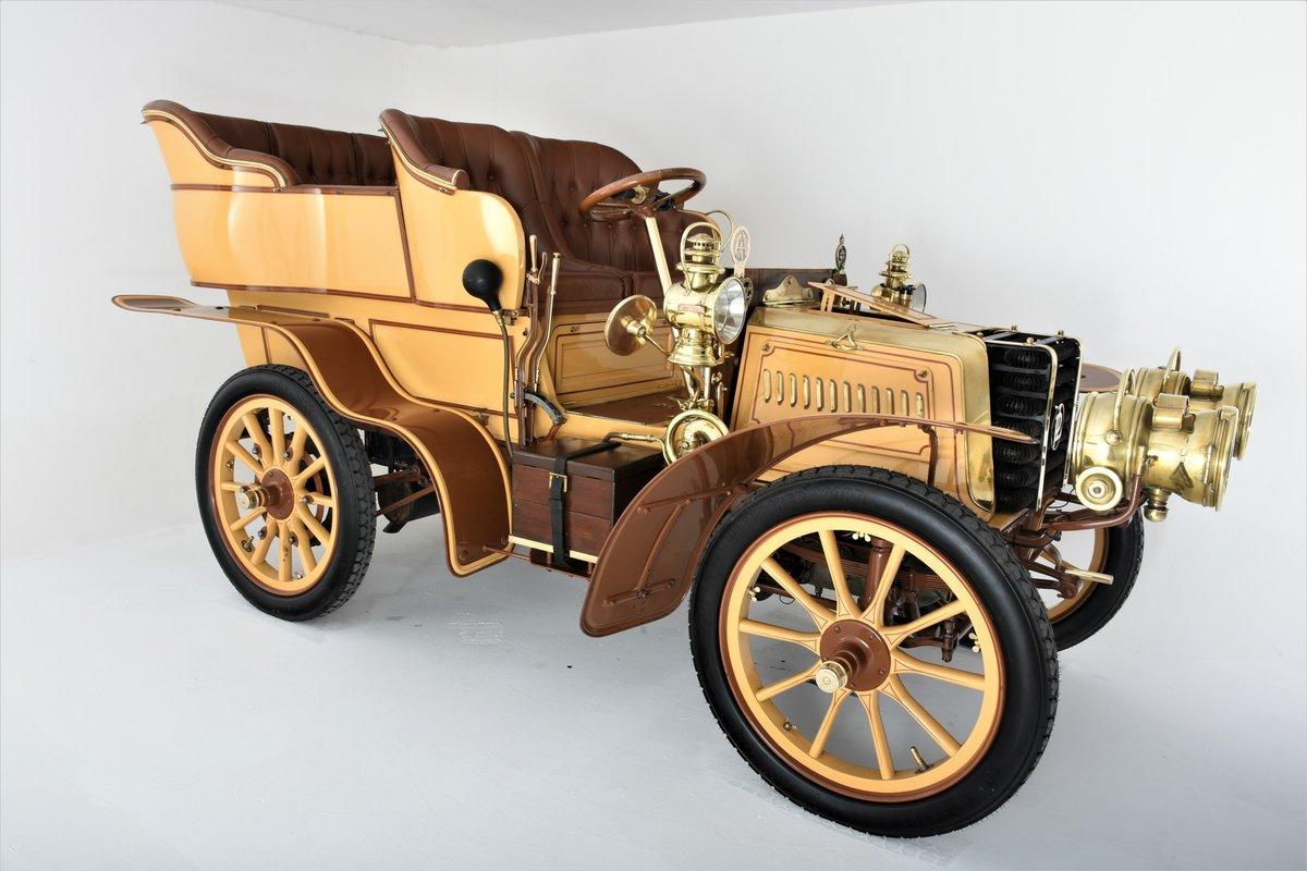 c.1902 Panhard & Levassor 16/20hp Rear Entrance Tonneau For Sale (picture 15 of 20)