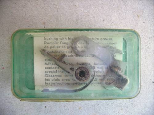 1955 Ignition Pointset Panhard/Renault/Simca 1950's For Sale (picture 1 of 3)