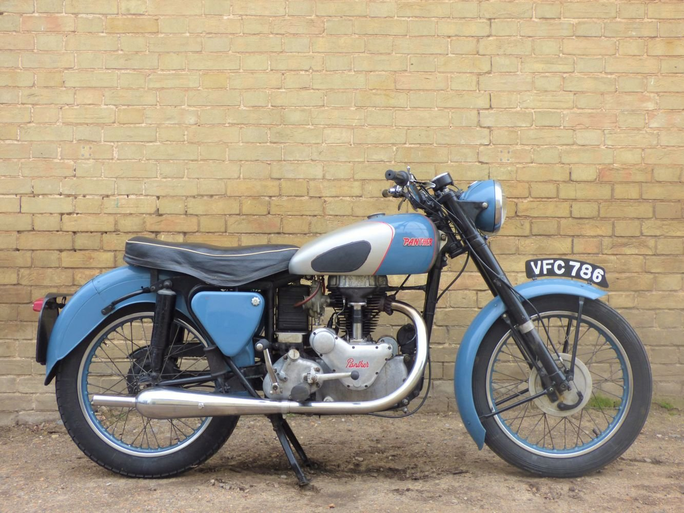 1954 Panther Model 75 350cc For Sale (picture 1 of 6)