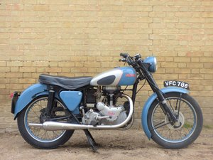 1954 Panther Model 75 350cc For Sale