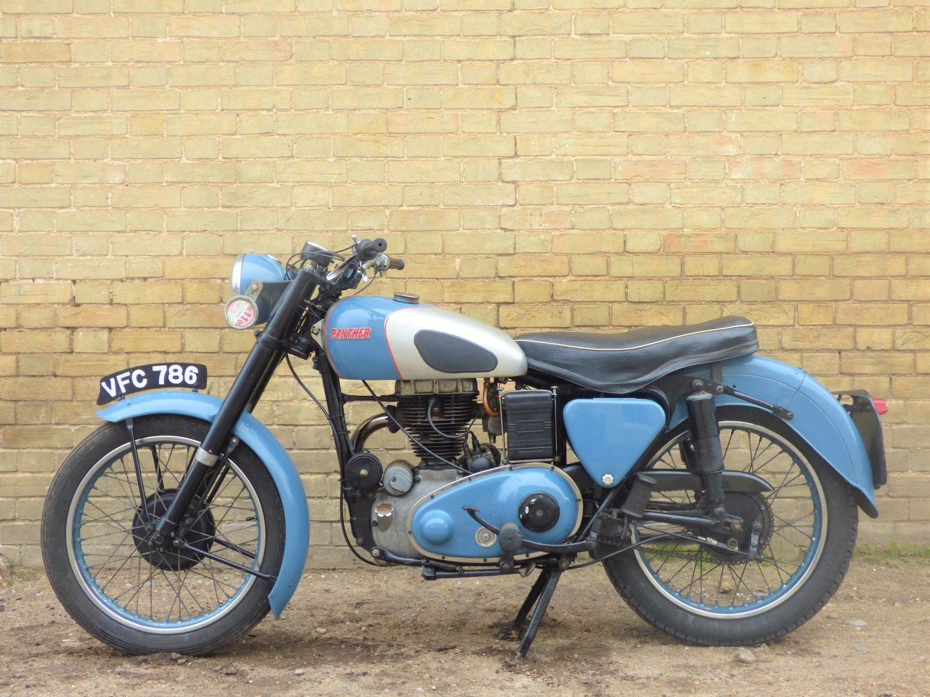 1954 Panther Model 75 350cc For Sale (picture 2 of 6)
