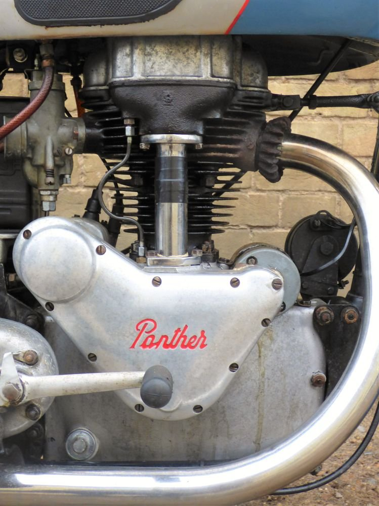 1954 Panther Model 75 350cc For Sale (picture 3 of 6)