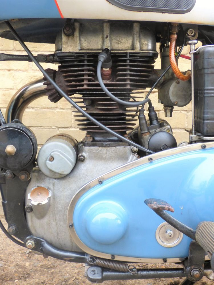 1954 Panther Model 75 350cc For Sale (picture 4 of 6)