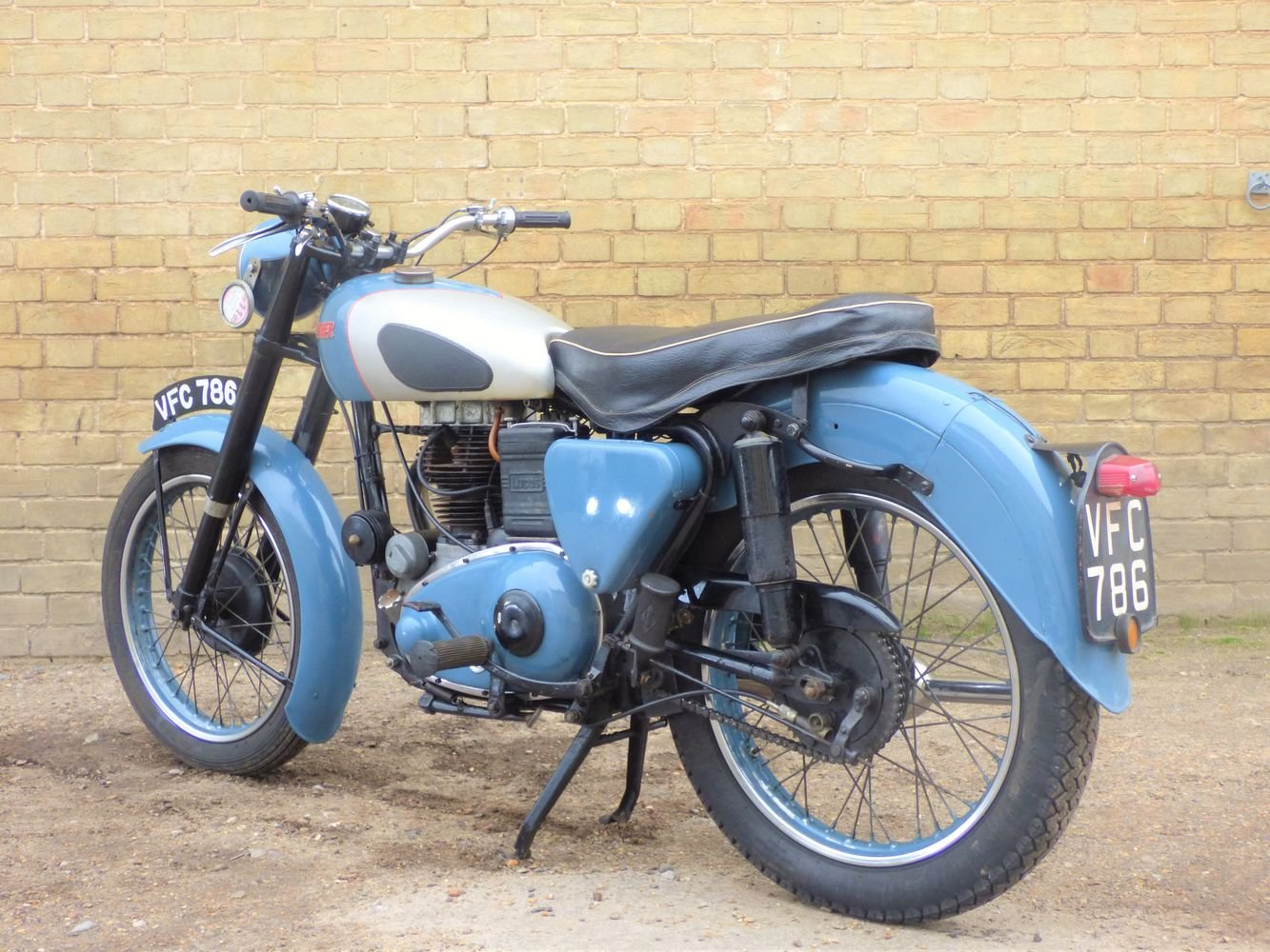 1954 Panther Model 75 350cc For Sale (picture 5 of 6)