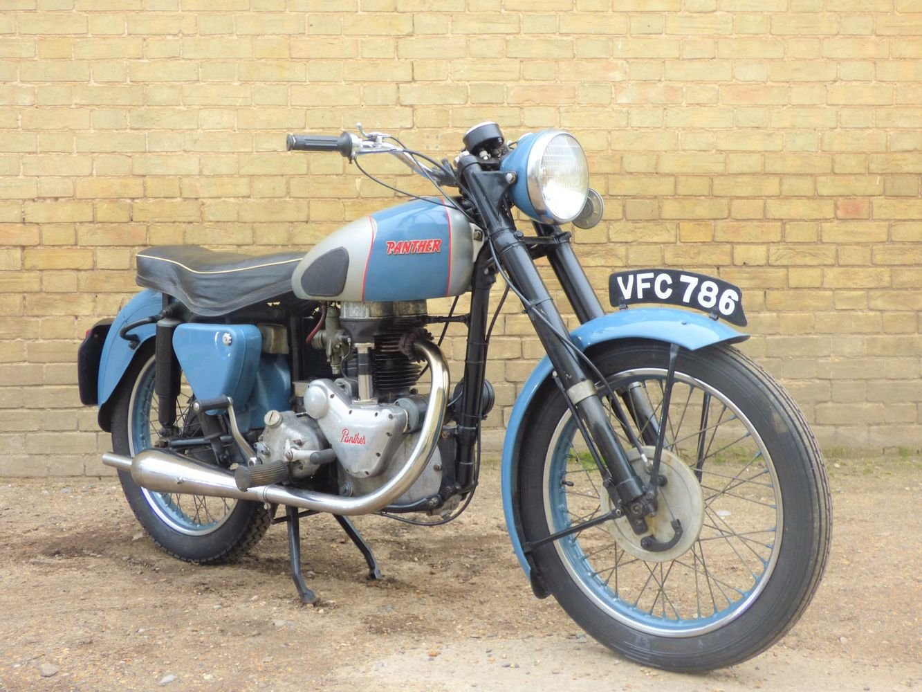 1954 Panther Model 75 350cc For Sale (picture 6 of 6)