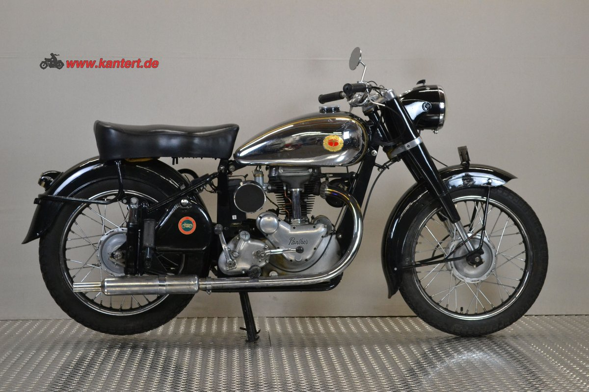 1953 Panther Svalan 75 L, 348 cc, 16800 km For Sale (picture 1 of 6)