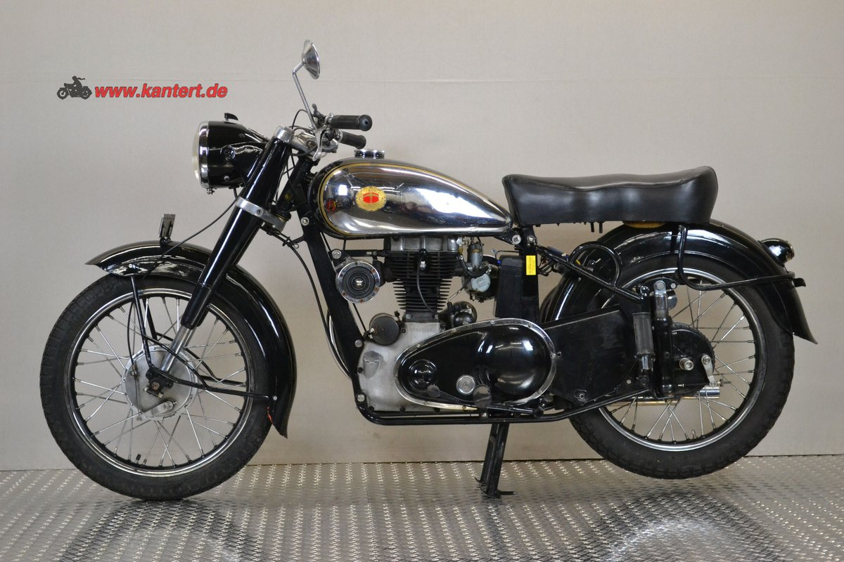 1953 Panther Svalan 75 L, 348 cc, 16800 km For Sale (picture 2 of 6)