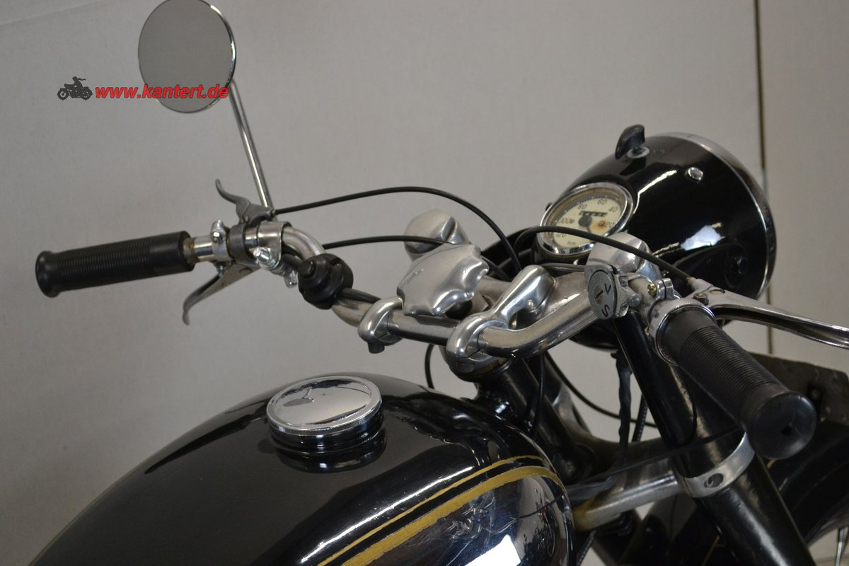 1953 Panther Svalan 75 L, 348 cc, 16800 km For Sale (picture 5 of 6)