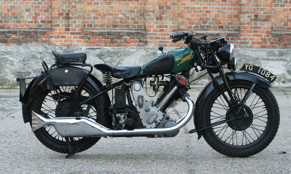 1933 Panther Model 100 Redwing 600cc OHV For Sale (picture 1 of 6)