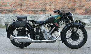 1933 Panther Model 100 Redwing 600cc OHV