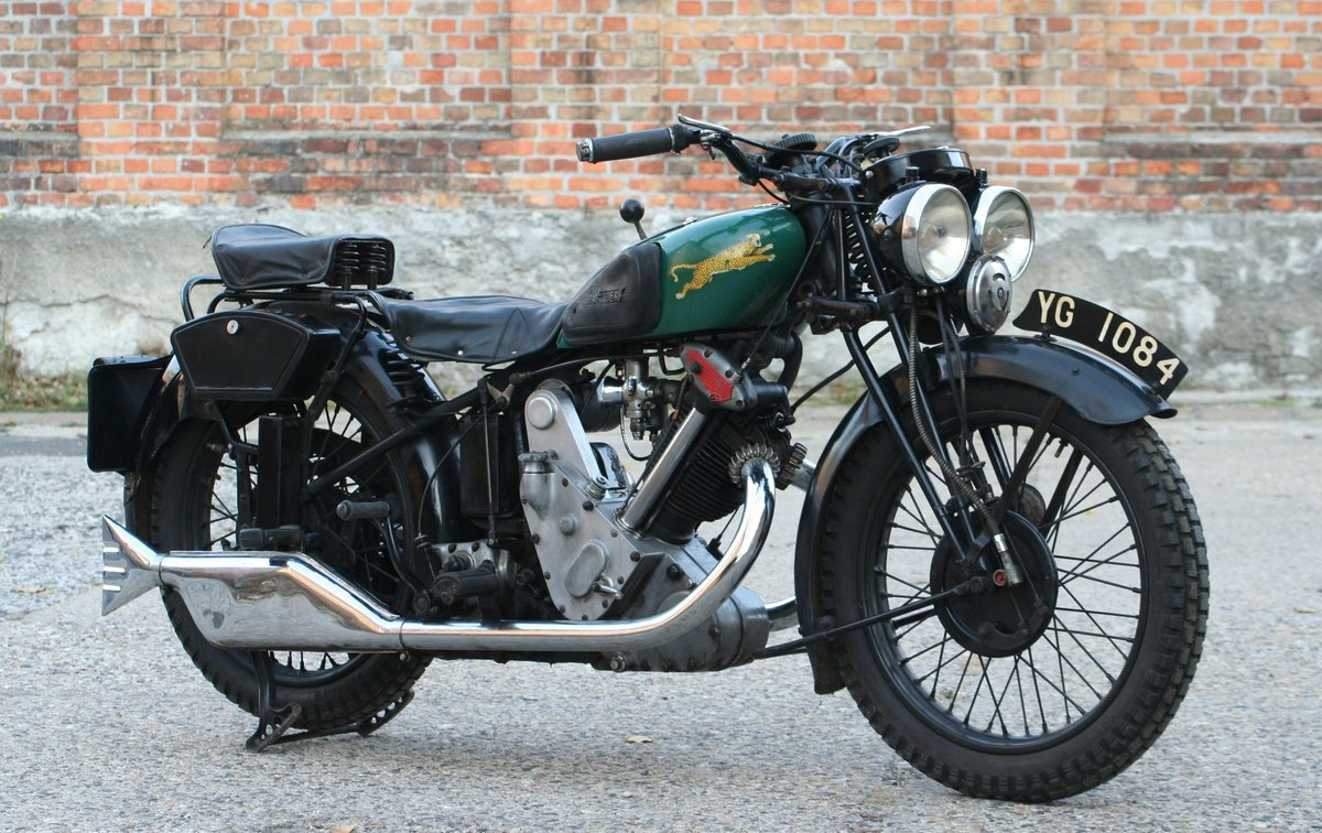 1933 Panther Model 100 Redwing 600cc OHV For Sale (picture 3 of 6)