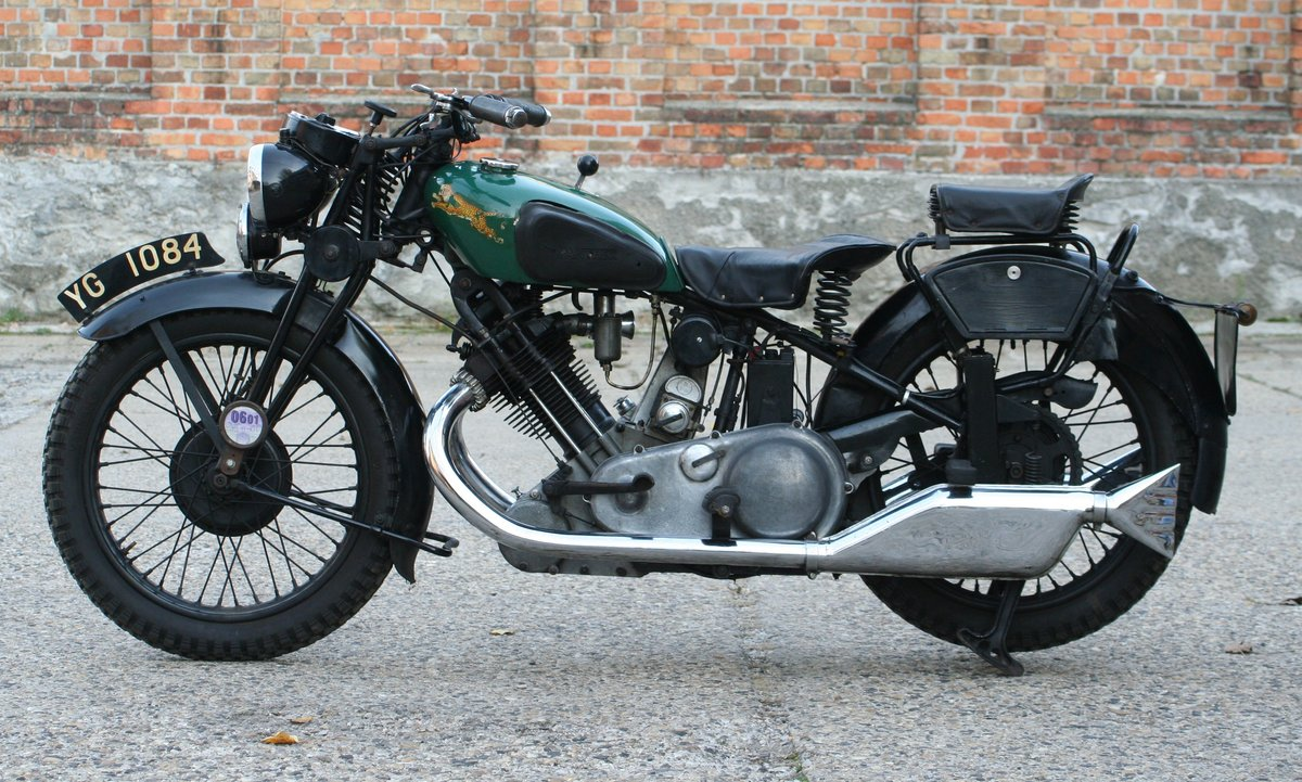 1933 Panther Model 100 Redwing 600cc OHV For Sale (picture 4 of 6)