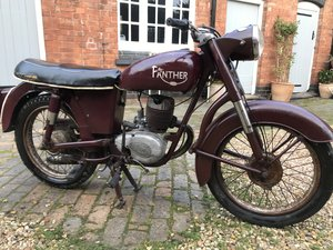 1958 Panther Villiers 197cc  For Sale
