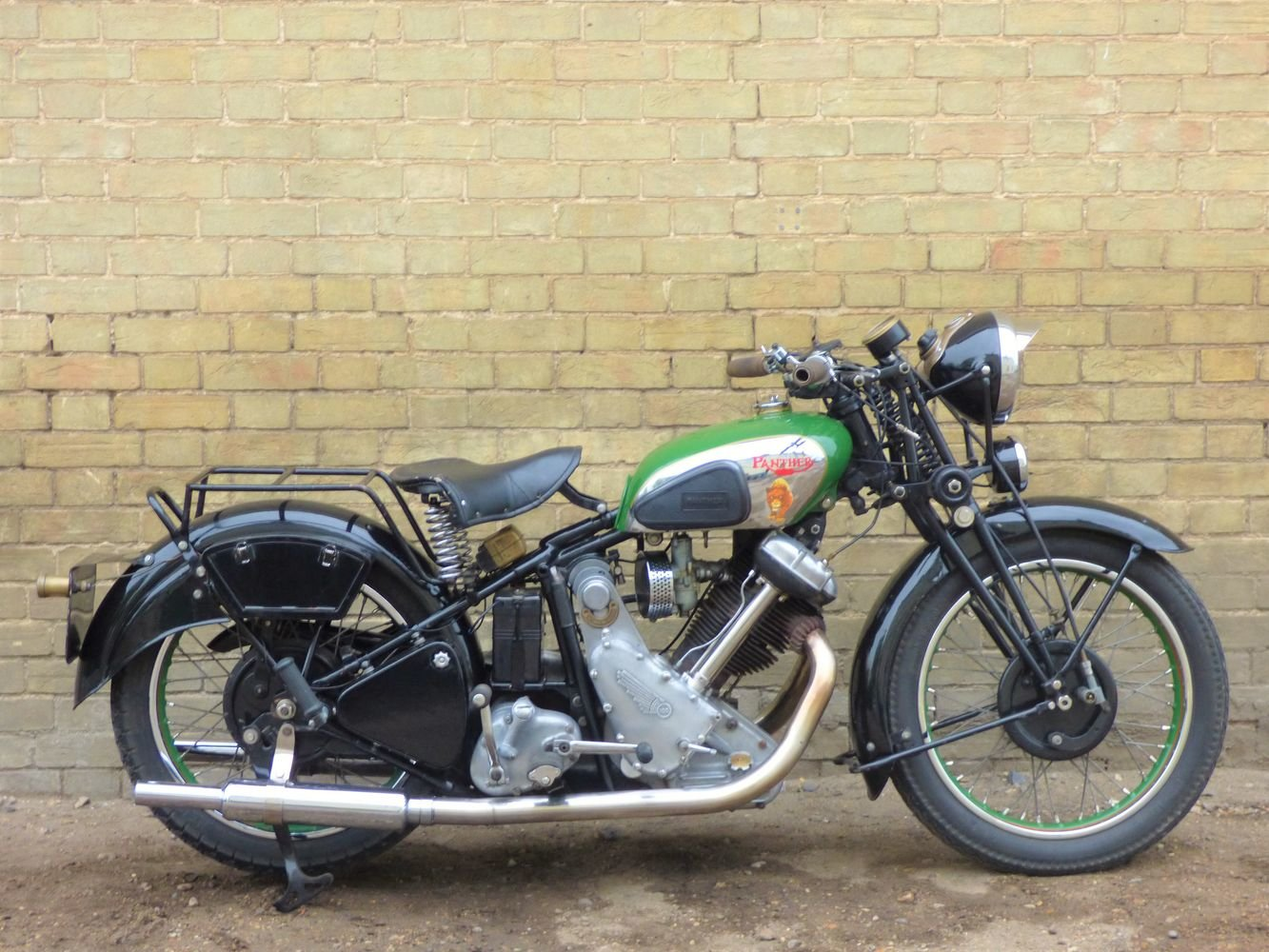 1938 Panther Model 100 600cc For Sale (picture 1 of 6)
