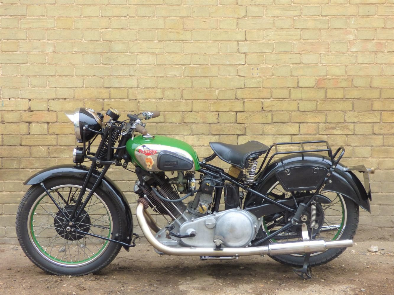 1938 Panther Model 100 600cc For Sale (picture 2 of 6)