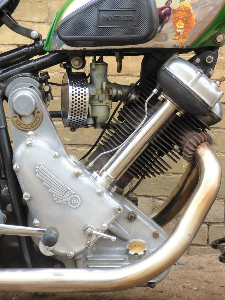 1938 Panther Model 100 600cc For Sale (picture 3 of 6)