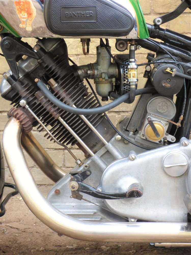 1938 Panther Model 100 600cc For Sale (picture 4 of 6)