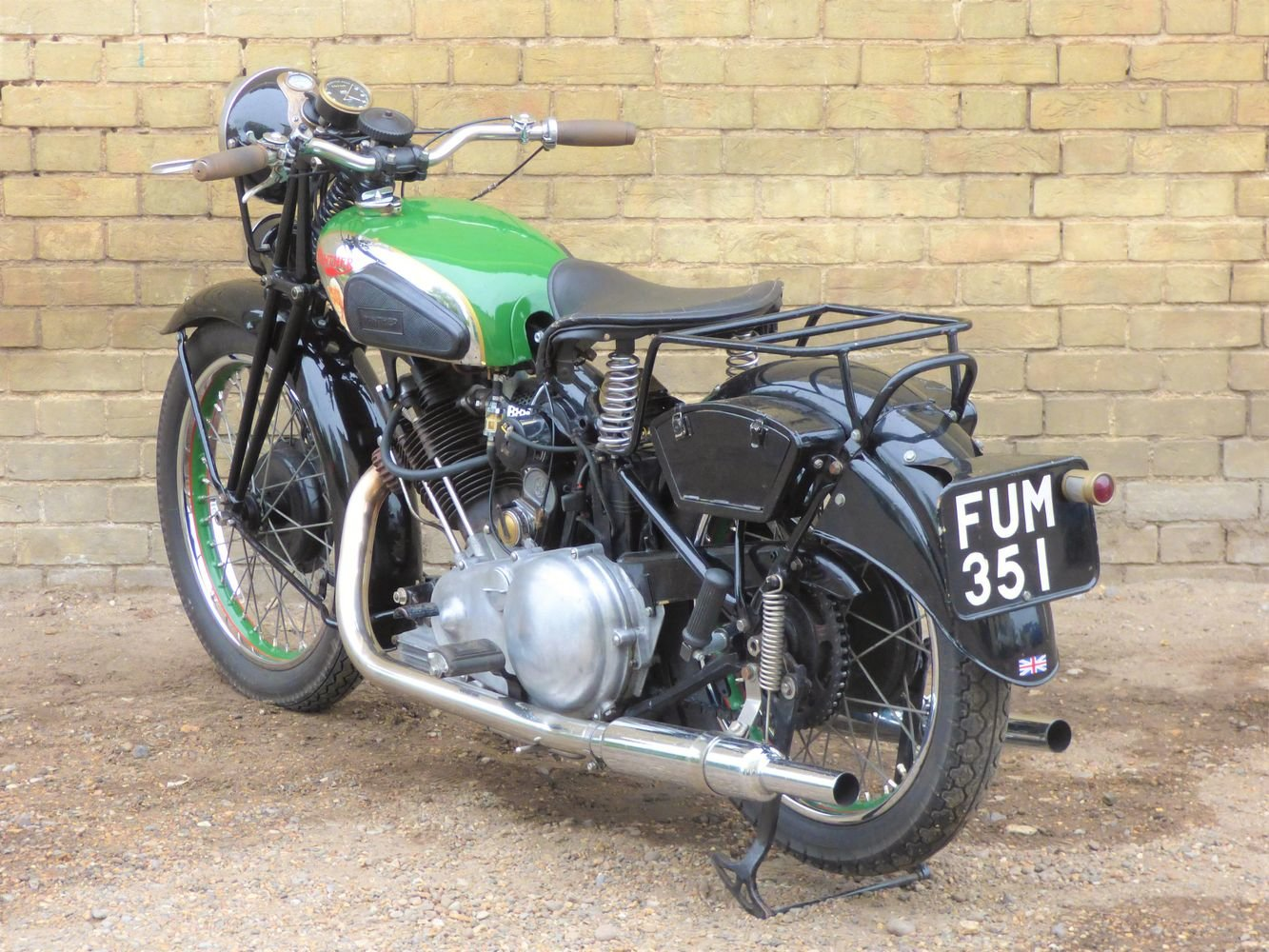 1938 Panther Model 100 600cc For Sale (picture 5 of 6)