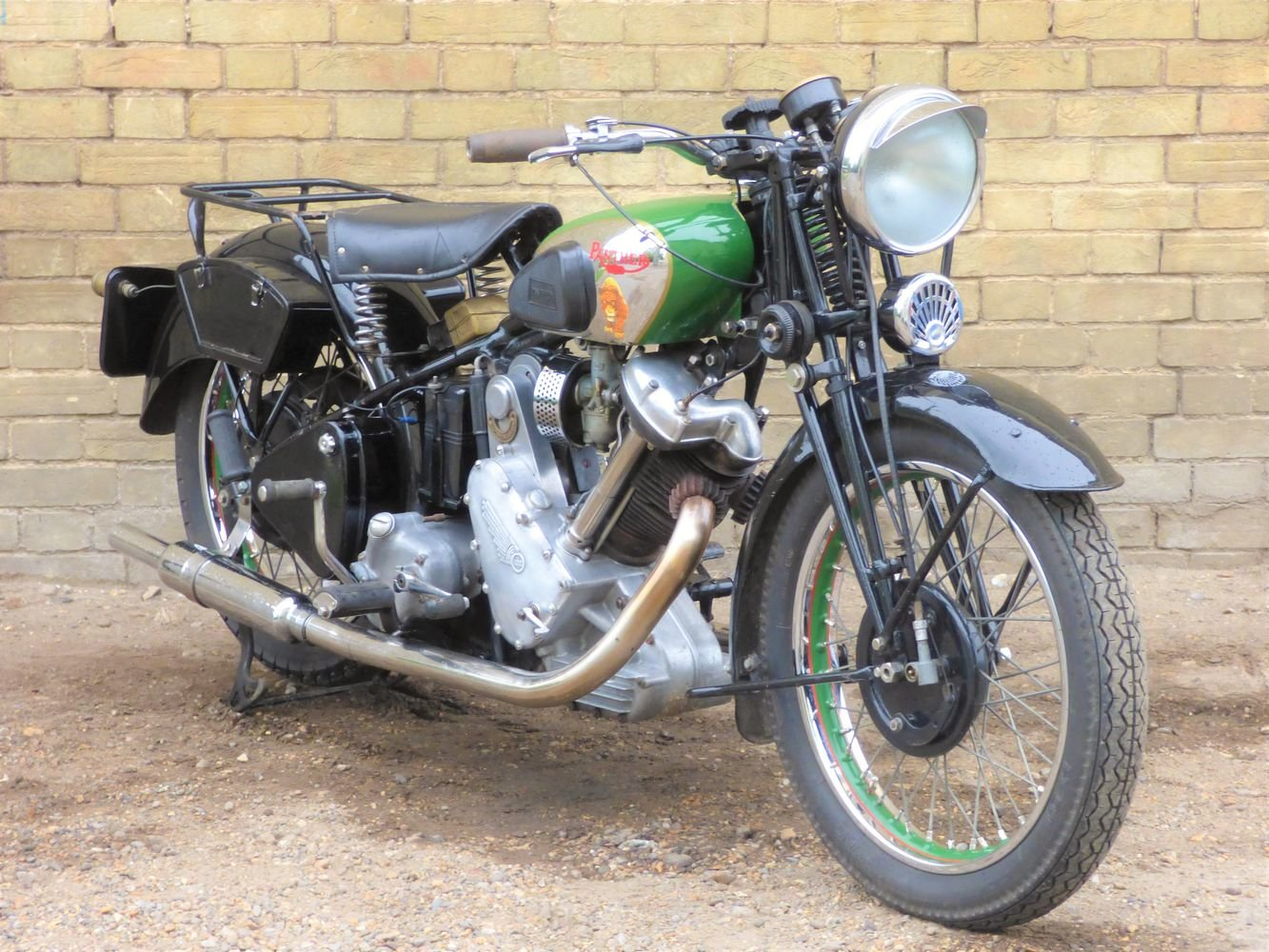 1938 Panther Model 100 600cc For Sale (picture 6 of 6)