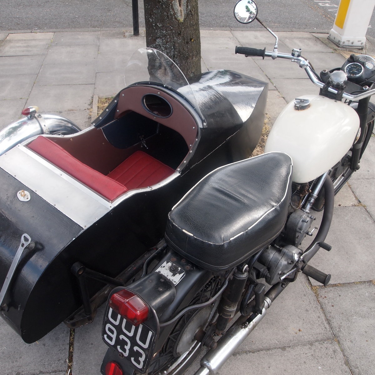 1956 P & M Panther M100 Fitted With 650cc Engine + Sidecar. For Sale (picture 5 of 6)