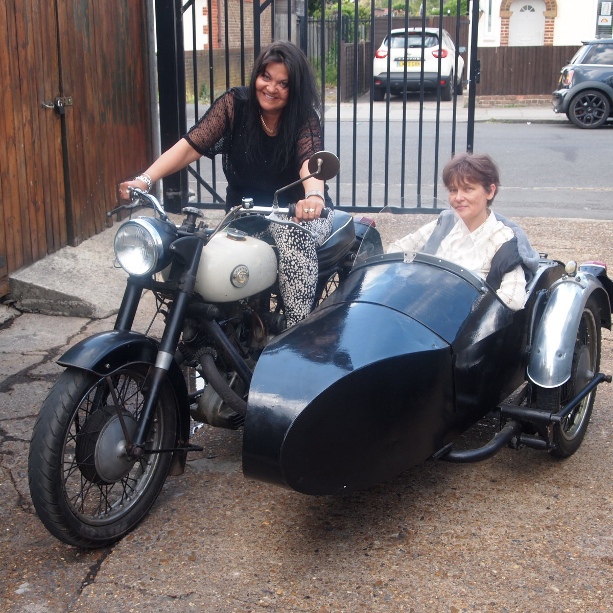 1956 P & M Panther M100 Fitted With 650cc Engine + Sidecar. For Sale (picture 4 of 6)
