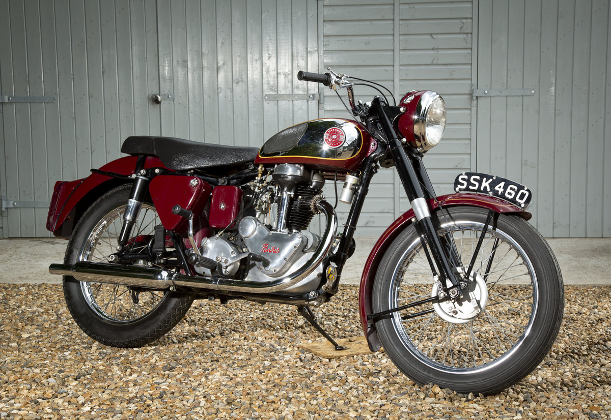 1957 Panther 65 looking lovely and running perfect SOLD (picture 1 of 6)