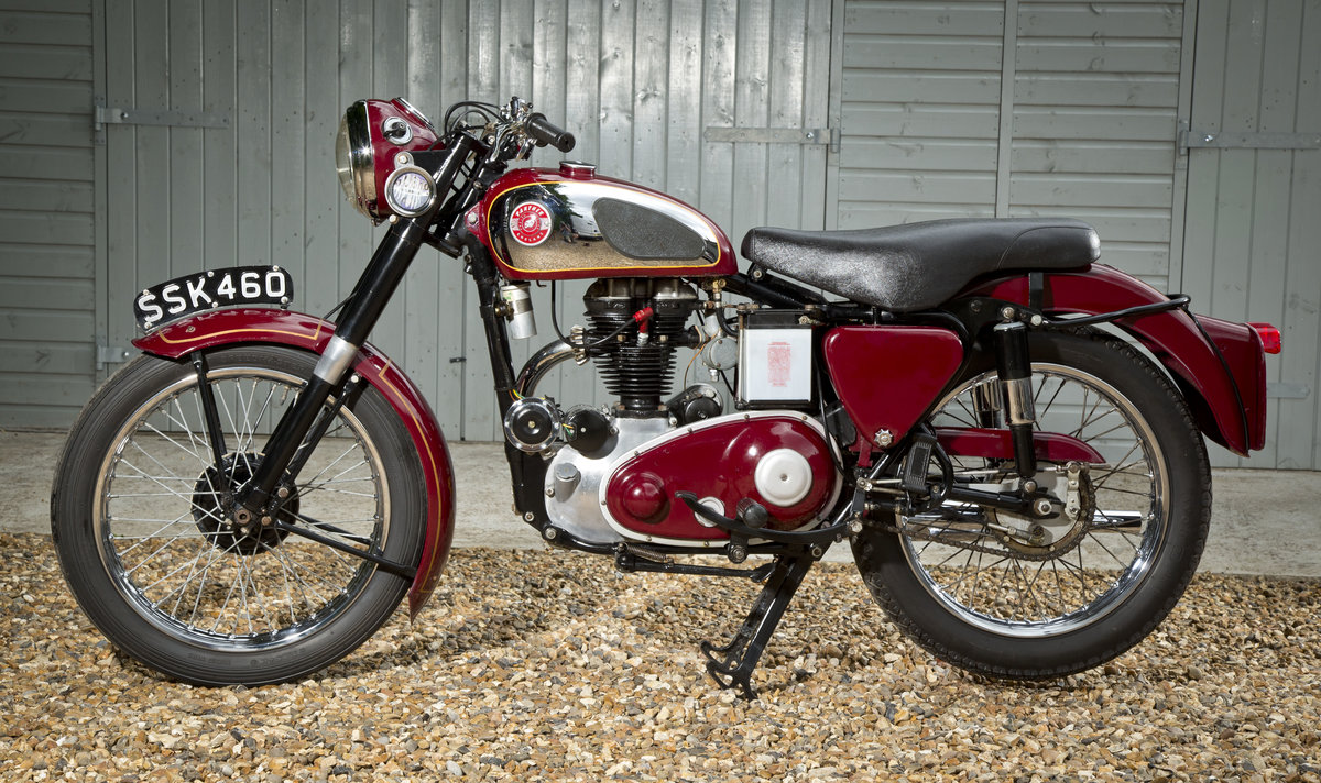 1957 Panther 65 looking lovely and running perfect SOLD (picture 2 of 6)