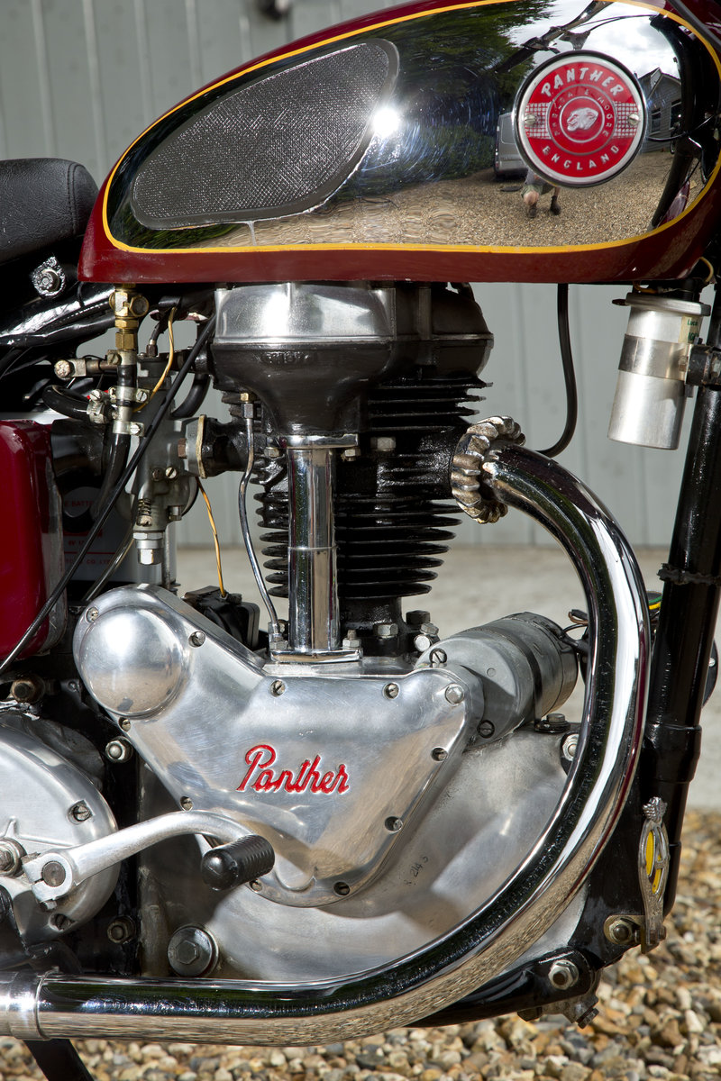 1957 Panther 65 looking lovely and running perfect SOLD (picture 4 of 6)