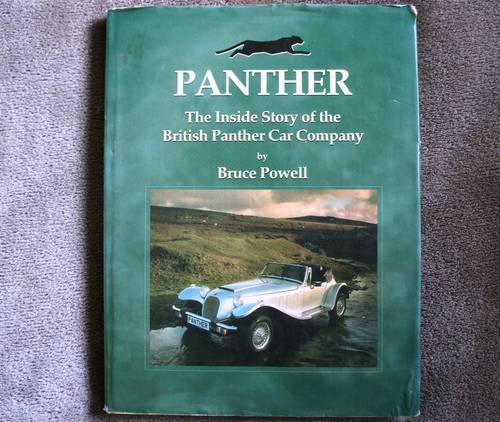 PANTHER -The Inside Story of the British Panther Car Company For Sale (picture 1 of 4)