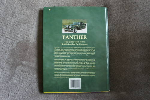 PANTHER -The Inside Story of the British Panther Car Company For Sale (picture 2 of 4)