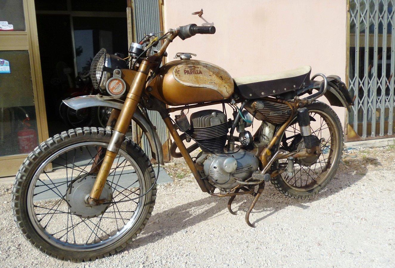 1958 Parilla 125 Wildcat For Sale (picture 1 of 6)