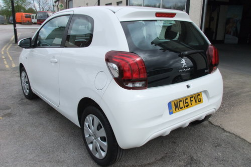 2015 PEUGEOT 108 1.0 ACTIVE 5DR SOLD (picture 3 of 6)