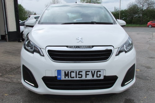 2015 PEUGEOT 108 1.0 ACTIVE 5DR SOLD (picture 4 of 6)