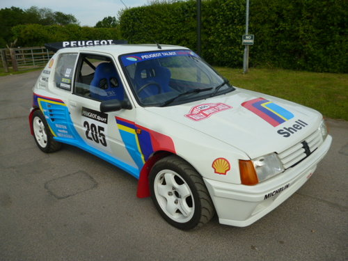 1992 PEUGEOT 205 IN THE STLE OF T16 SOLD (picture 1 of 6)