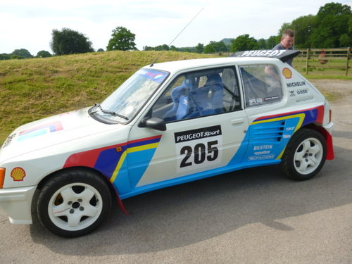 1992 PEUGEOT 205 IN THE STLE OF T16 SOLD (picture 3 of 6)