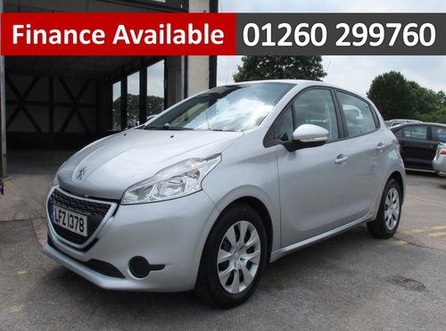 2012 PEUGEOT 208 1.2 ACCESS PLUS 5DR SOLD (picture 1 of 6)