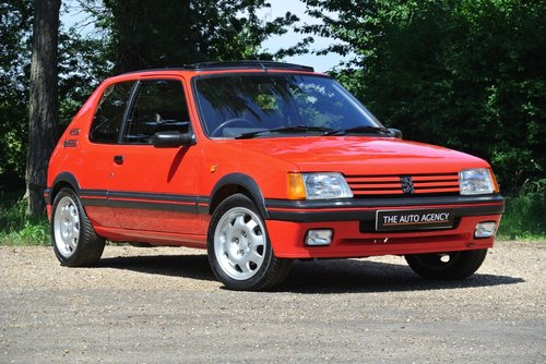 1990 PEUGEOT 205 1.9 GTI **RETRO HOT HATCH CLASSIC** For Sale (picture 1 of 6)