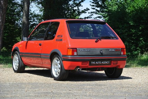 1990 PEUGEOT 205 1.9 GTI **RETRO HOT HATCH CLASSIC** For Sale (picture 2 of 6)