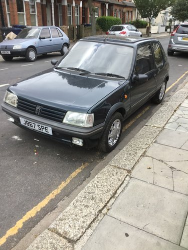 1991 PEUGEOT 205 1.9 GENTRY, AUTO CLASSIC ('92 J) For Sale (picture 2 of 4)