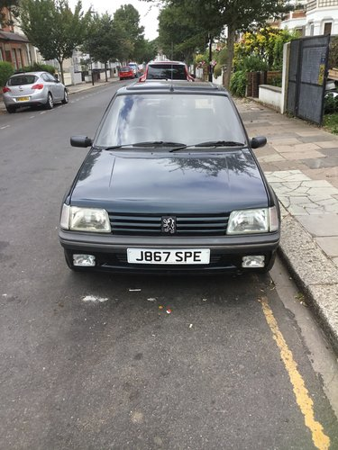 1991 PEUGEOT 205 1.9 GENTRY, AUTO CLASSIC ('92 J) For Sale (picture 4 of 4)