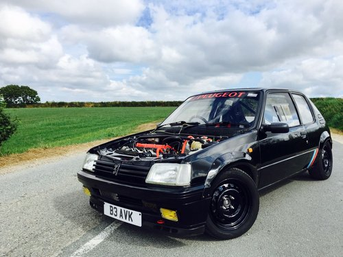 1990 Peugeot 205 GTI 2.0 Mi16 Track Ready - £15,500  For Sale (picture 1 of 6)